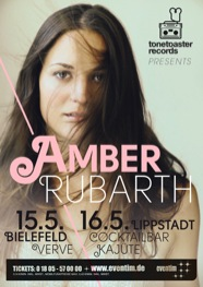 Amber Rubarth Flyer